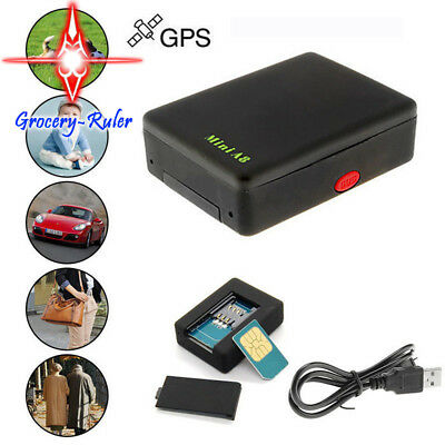 A8 Mini Time Car Kid Pet GSM/GPRS/GPS Global Locator Real Tracking Tracker Braw