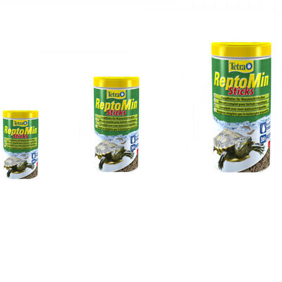 TETRA REPTOMIN STICKS COMPLETE FOOD FOR WATER TURTLES 60g/250ml 130g/500ml TUBE