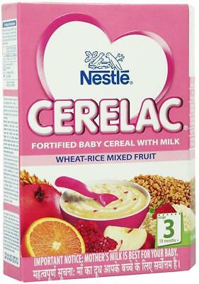 Nestle Cerelac Wheat-Rice Mixed Fruits - Stage 3 -10 Months 300g / 10.6 Oz Fship