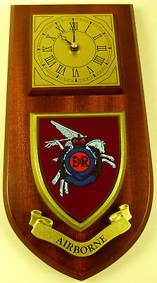 Corps Of Royal Engineers Airborne Classic Hand Made To Order  Wall Clock