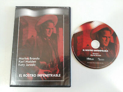 El Rostro Impenetrable Dvd Marlon Brando Español English