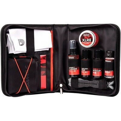 D'Addario Planet Waves Guitar Care Cleaning Cleaner Kit w/ Polish & Lubricant