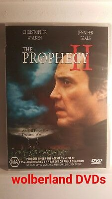 The Prophecy II [ DVD ] BRAND NEW & FACTORY SEALED, Region 4, FREE Next Day Post