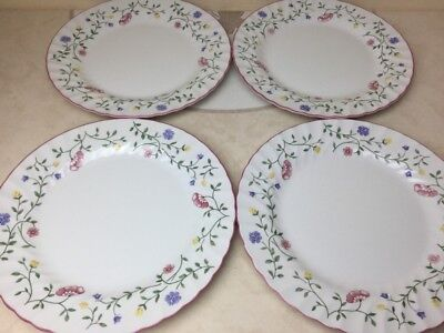 """Johnson Brothers Summer Chintz 4 x Dinner Plates Very Good Condition 9.3/4"""""""