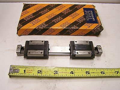 THK 2RSR15ZMUU+150LM Linear Bearing Guide Block and Guide Rail 2RSR15ZM Used