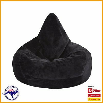 Large 300L Faux Fur Bean Bag Poly Cotton Soft Warm Plush Sofa Chair Relax Seat