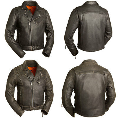 c7f5564df ICON RETRO DAYTONA Leather Motorcycle Jacket XL (Free Shipping ...