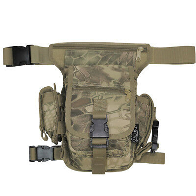 MFH Hip Bag Waist PackPaintball Travel Fanny Camping Outdoor Snake FG Camo