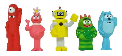 Playset Yo Gabba Gabba Multipack 5 Figure Character Animation Pretend Play Toys