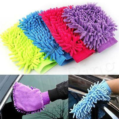 1pcs Easy Microfiber Car Kitchen Household Wash Washing Clean Cleaning Glove