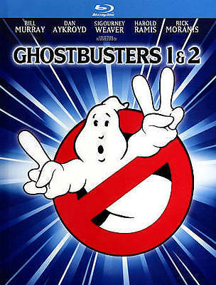 Ghostbusters 1 & 2 (Blu-ray Disc, 2014, 2-Disc Set, Mastered in 4 K #dbw