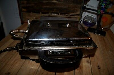 """NEUMARKER 10 """" Single Multi Contact Grill Grooved Plate GERMAN CONTACT GRILL"""