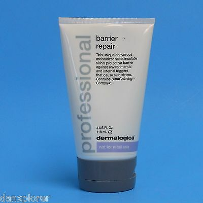 DERMALOGICA PROFESSIONAL BARRIER REPAIR 4oz/118ml SEALED UNDER CAP & SUPER FRESH