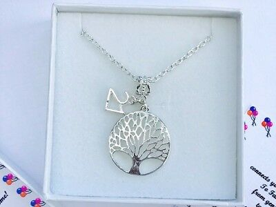 Tree of Life 13th 16th 18th 21st 30th, 40th, 50th, 60th, Birthday Necklace Gift