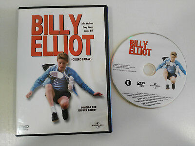Billy Elliot Dvd Stephen Daldry Julie Walters Español English  Francais