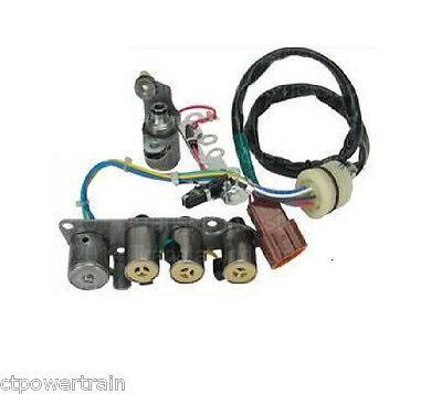 """RE4F04A 4F20E OEM Solenoid Kit 1992-2006 18"""" Long Wire Harness Type New RE4FO4A"""