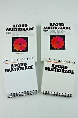 189609 Ilford Multigrade 3.5 x 3.5-inch Filters Complete Set Plus Spares!