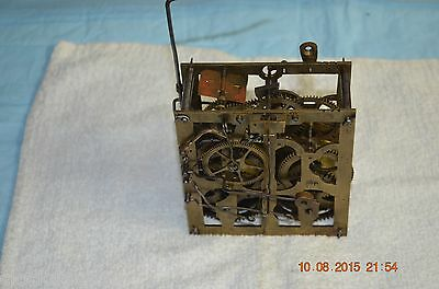 ANTIQUE CUCKOO CLOCK MOVEMENT from Shelf/Mantle Cuckoo Clock for project or part