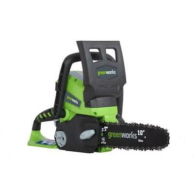 Greenworks 20362 24V Cordless Lithium-Ion Enhanced 10 in. Chainsaw Kit