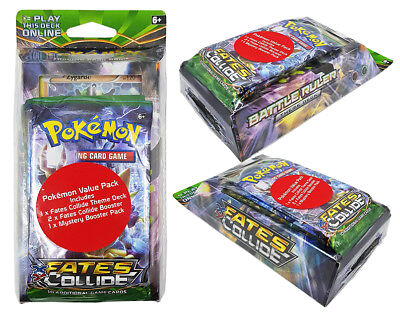 Pokemon Fates Collide Theme Deck Value Pack NEW & SEALED! Theme Deck + 3 Booster