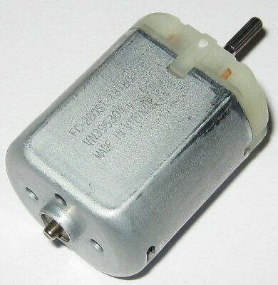 Mabuchi FC-280 Automotive DC Motor - 6 to 15 VDC - 9840 RPM - 12 V - 280ST-18180