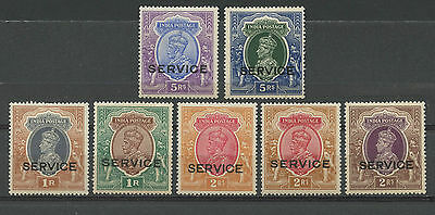 India Postage, Sellos, King George Vi & Local Motives, Stamps Service India