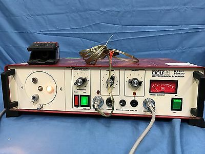 Richard Wolf 2094.00 Electro Surgical Generator w/ Foot Pedal