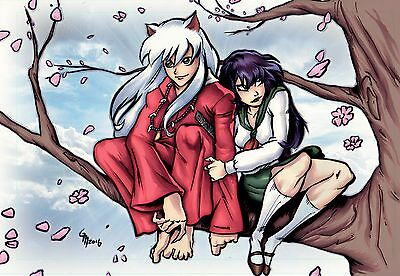 Inuyasha 11x17 Poster Anime Adult Swim Cartoon Network FREE SHIPPING