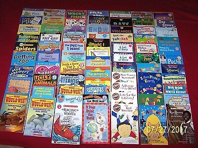 75 Scholastic Readers Books Teachers Early Elementary Level 1 2 3 Age 5-8