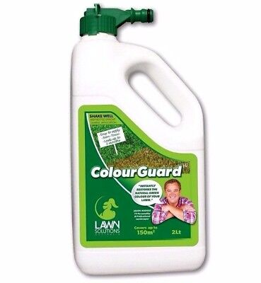Lawn Solutions ColourGuard 2Litres Instantly Restores Natural Green Colour of La