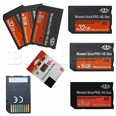 Quality Memory Stick MS Pro Duo Memory Card for Sony Game PSP Cybershot Camera