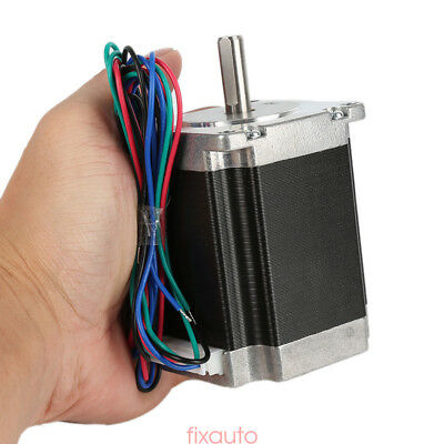 Schrittmotor Stepper Motor Nema 23 1.8°4-wires 76mm 3A 270oz-in1.8Nm Bipolar NY6
