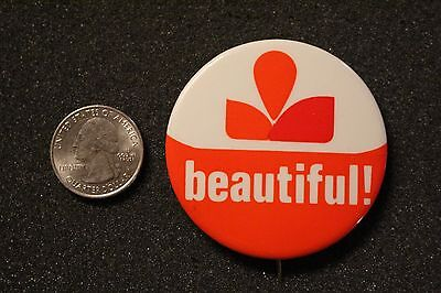 Adohr Farms Dairy Milk Beautiful Vintage Pin Pinback Button #22442