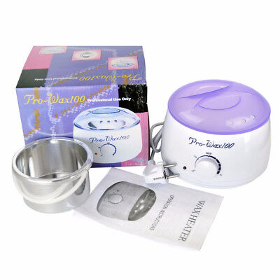 500ml Waxing Wax Paraffin Pot Warmer Heater Hair Removal Salon Beauty Equipment