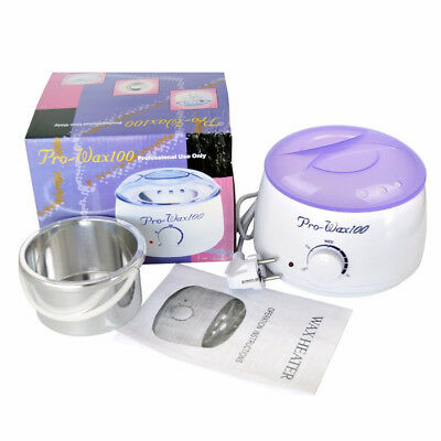 Pro Wax Kit Heater Pot Salon Waxing Hair Removal 500g Brazilian Hot Wax Bean AU