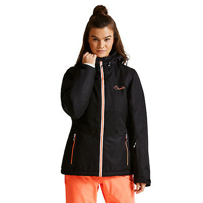 5d6face942 Dare2b Womens Beckoned II BLACK Ski Jacket Ladies NEW SIZES 10 - 20 UK