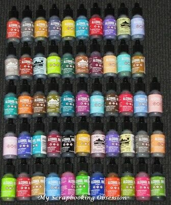 Tim Holtz Ranger 'ALCOHOL INK' x1 14ml (Choose from 60 Colours) Permanent