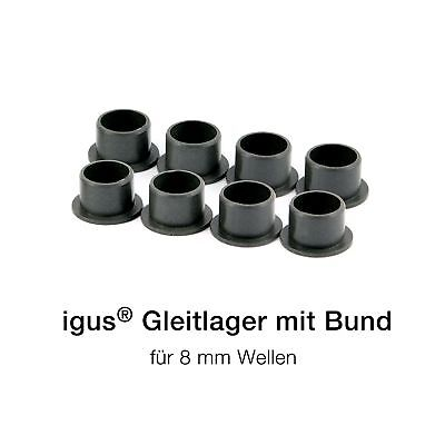 IGUS Bearing with brida- iglidur GFM (8mm)