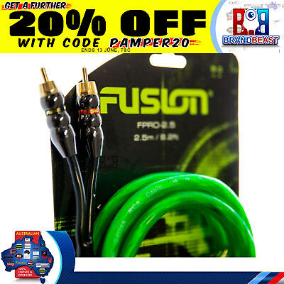 Fusion Fpro Ultra Premium Stereo Rca Cable High Performance Audio Interconnect