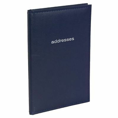 "67144 Mead Address Book. 52 sheets 7 3/4"" x 5 1/8"". Assorted colors"