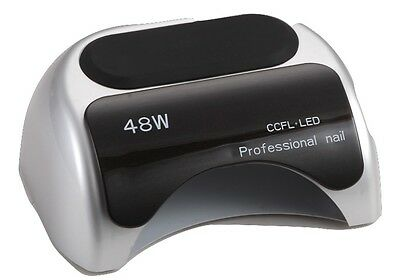 48W Gel Dryer Nail Care Curing Tool LED UV Lamp Drying For Shellac Polish Timer