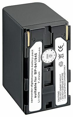 Wentronic 78435-GB Replacement Battery for Canon BP-941/945
