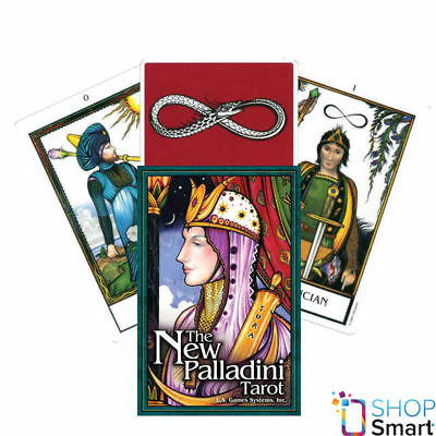 The New Palladini Tarot Deck Cards Esoteric Telling Us Games Systems New
