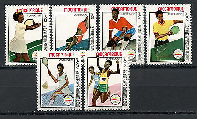 Mozambique Stamps, Serie, The Olympic - Barcelona 1992, (6)