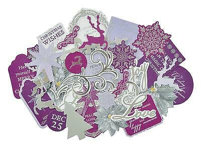 ~ CHRISTMAS JEWEL ~ COLLECTABLES 50+ Die Cut Shapes Card Making Kaisercraft