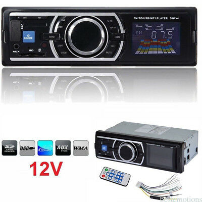 Bluetooth Car Stereo CD MP3 Player AUX-IN/USB-Port/FM Radio In Dash V2.0 1 Din