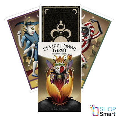 Deviant Moon Premier Edition Tarot Deck Cards Esoteric Telling New