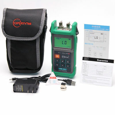 Fiber Tester TPM-35V 2-In-1 Optical Power Meter with VFL Visual Fault Locator