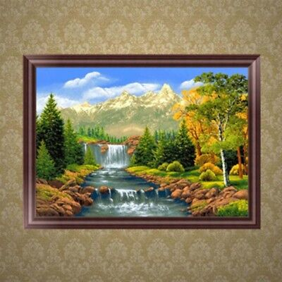 DIY 5D Diamond Embroidery Scenery Painting Cross Stitch Craft Home Decor Gift