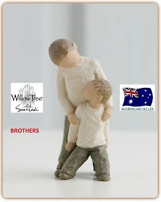 BROTHERS Demdaco Willow Tree Figurine By Susan Lordi BRAND NEW IN BOX